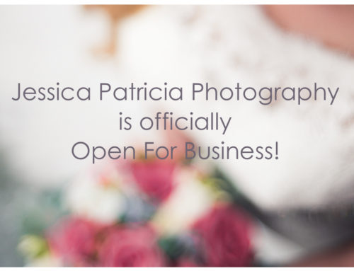 We Are Open // Jessica Patricia Photography // NEPA Wedding, Portrait & Boudoir Photographer