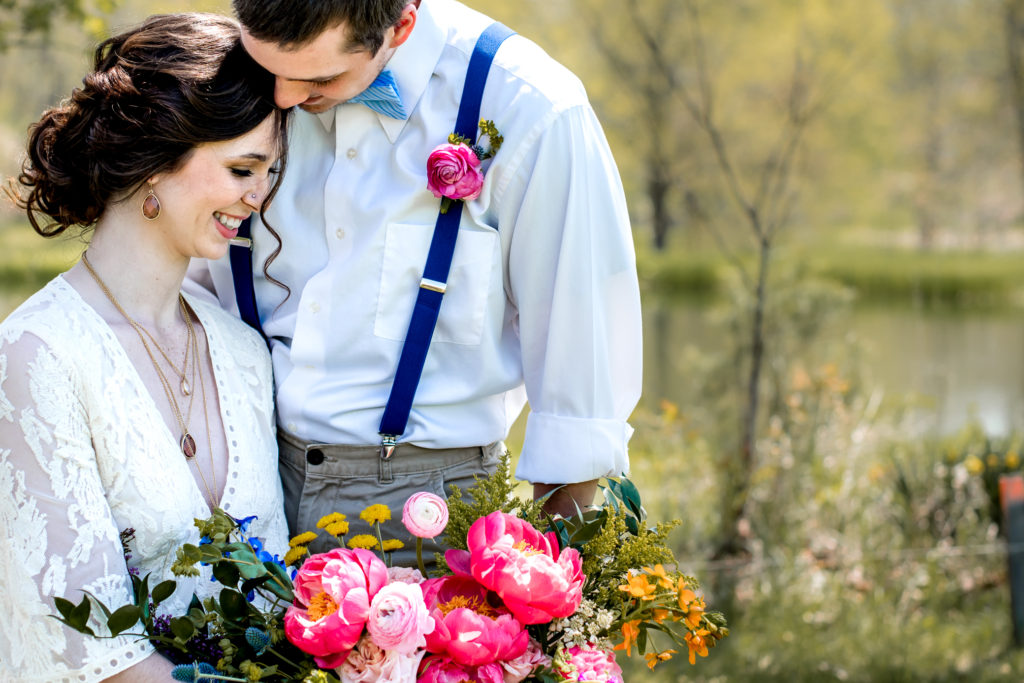 Boho Inspired Elopement Styled Shoot