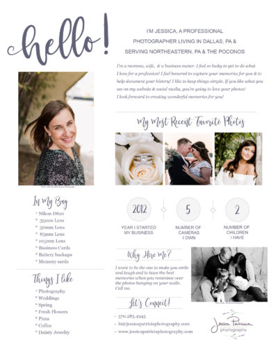 Wedding & Portrait Photographer in NEPA